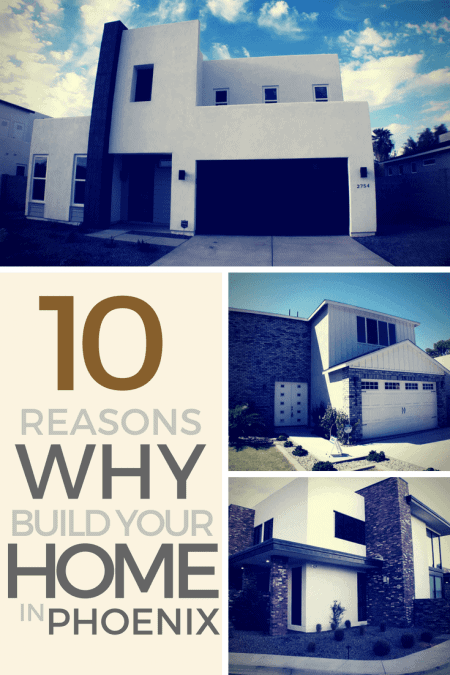 3 modern type of house you usually see and built by New Home Builders in Phoenix AZ