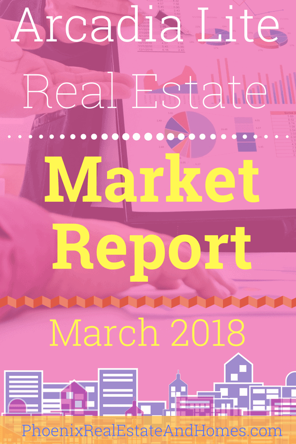 Arcadia Lite Real Estate Market Report - March 2018