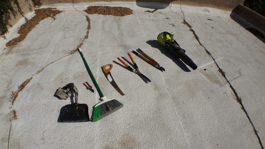 tools for pruning the tree that is overhanging onto my roof