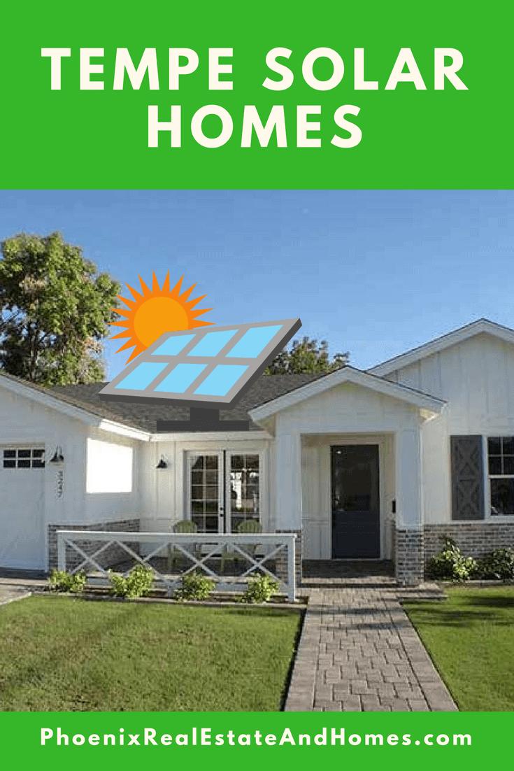 A single level Tempe Solar Home