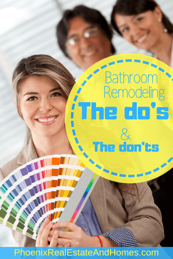 Bathroom Remodeling - The do's and don't's 2
