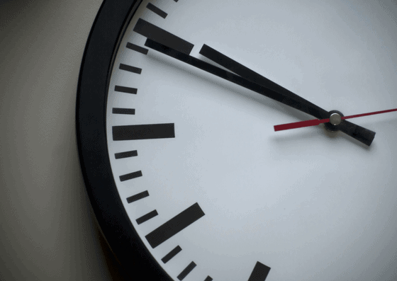 Analog clock in Hours in Town and Country