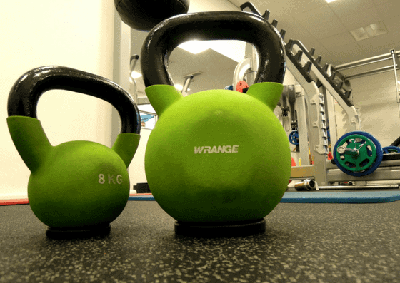 green kettlebells for LA Fitness in Town and Country