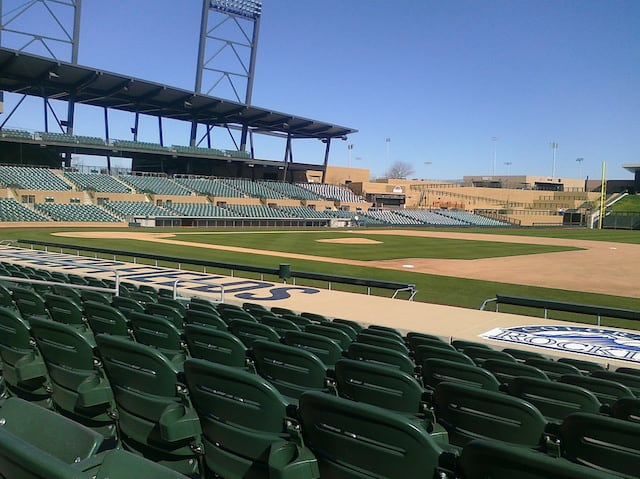 Cactus League Stadiums: SALT RIVER FIELD STADIUM