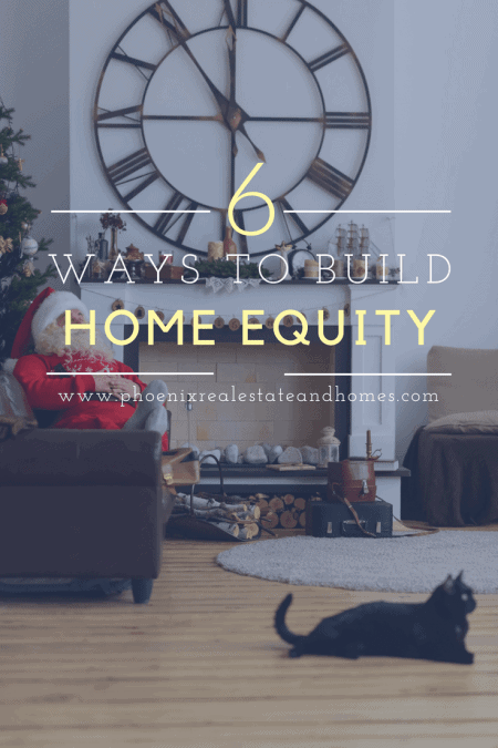 Beautiful interior design for building home equity