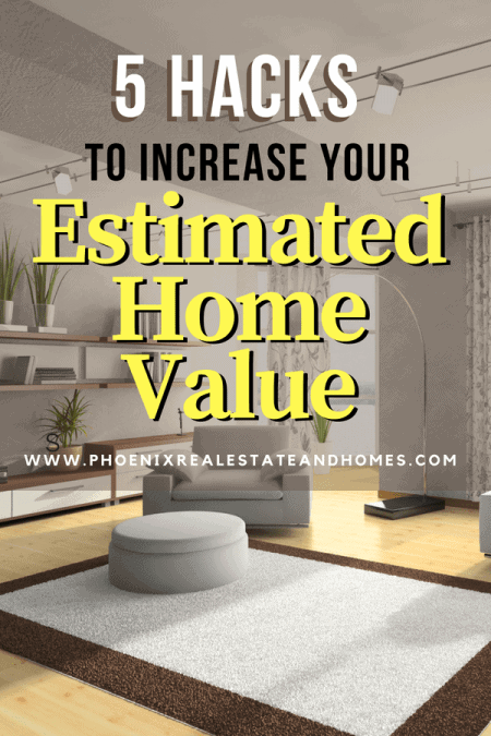 An updated house to increase estimated home value