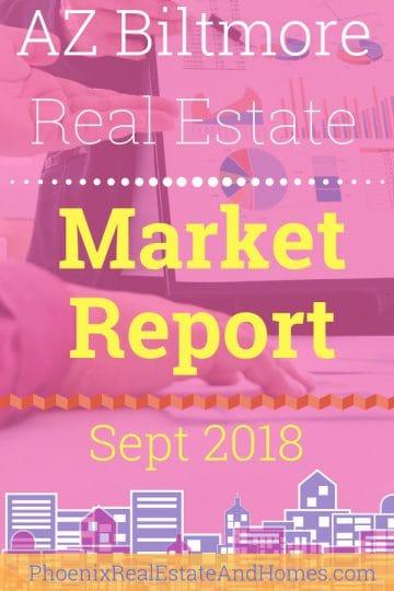 Arizona Biltmore Real Estate Market Report - September 2018