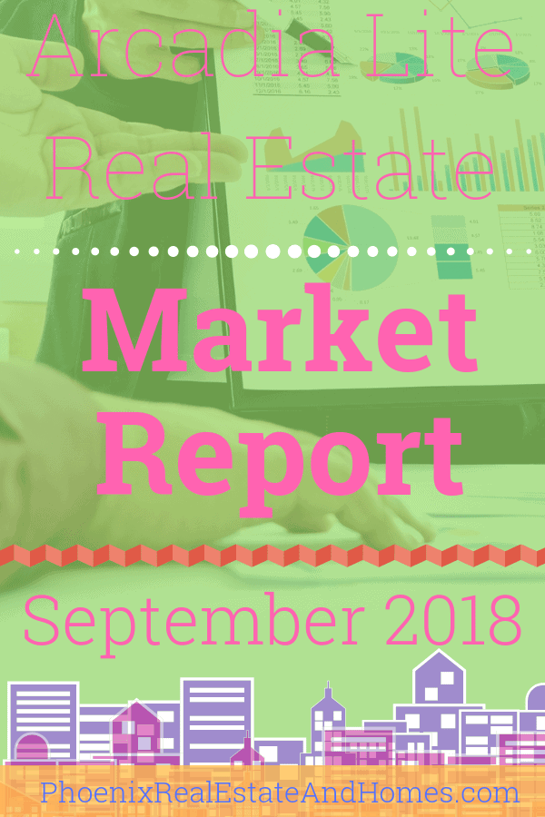 Arcadia Lite Real Estate Market Report - September 2018