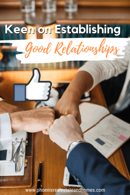 Real Estate professional and realtor® are fist bumping the client for a good deal is one of the 9 Attributes Your Real Estate Agent Must Have