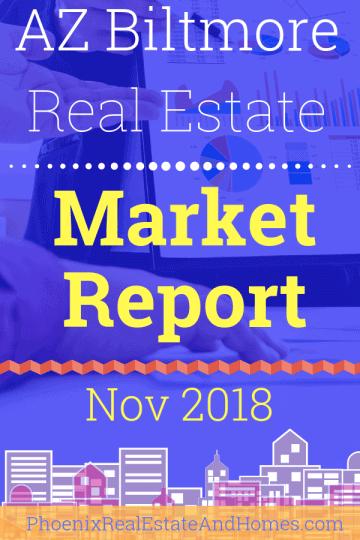 Arizona Biltmore Real Estate Market Report - November 2018