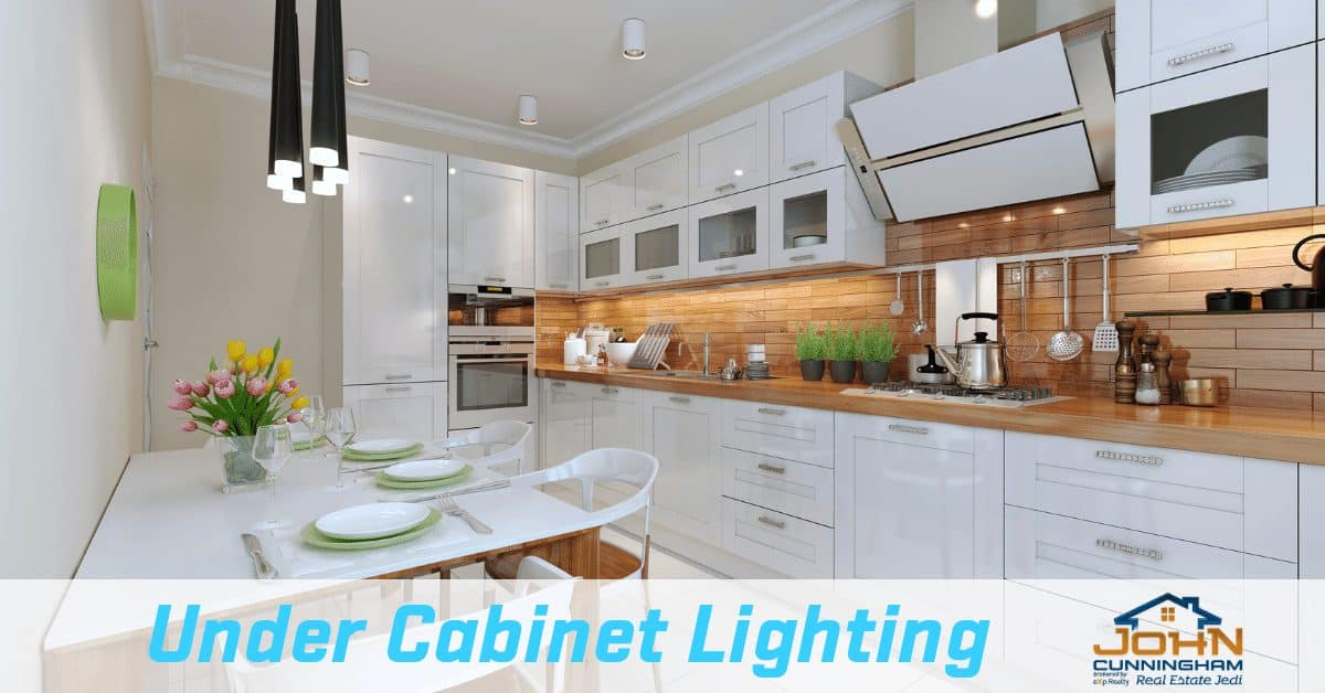 Small Kitchen Design Ideas For that Glammy Look - Under Cabinet Lighting